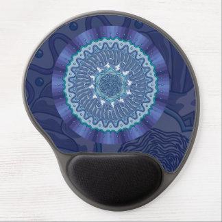 Gel Mousepad de la mandala del agua Alfombrillas Con Gel