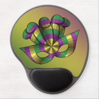 Gel Mousepad de la máscara del carnaval Alfombrilla De Raton Con Gel