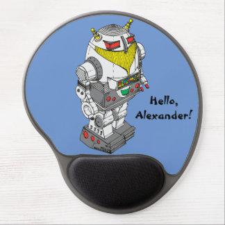 Gel Mousepad de la novedad del robot del juguete Alfombrillas De Ratón Con Gel