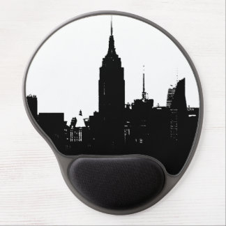 Gel Mousepad de la silueta de New York City del Alfombrilla Con Gel