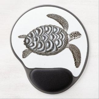 Gel Mousepad de la tortuga de mar de Hawksbill de  Alfombrilla Con Gel