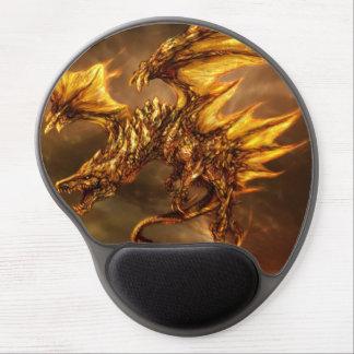 Gel Mousepad de la venganza del dragón Alfombrilla De Ratón Con Gel