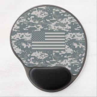 Gel Mousepad de los E.E.U.U. Digitaces Camo Alfombrilla Con Gel