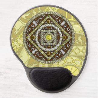 Gel Mousepad de los géminis Alfombrillas De Raton Con Gel