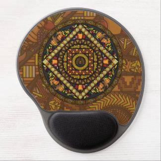 Gel Mousepad de los iconos de la acción de gracias Alfombrilla De Ratón Con Gel