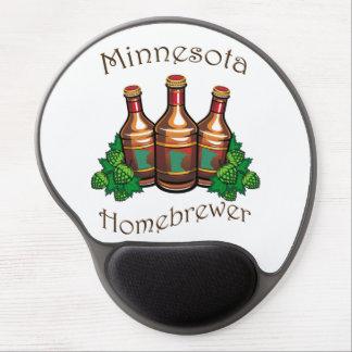 Gel Mousepad de Minnesota Homebrewer Alfombrilla Con Gel