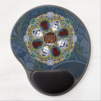 Gel Mousepad de Nouveau del invierno Alfombrilla Con Gel