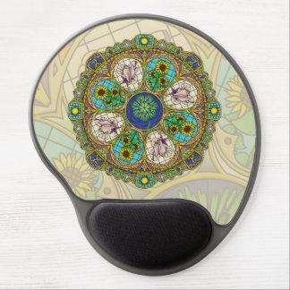 Gel Mousepad de Nouveau del verano Alfombrilla Con Gel