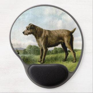 Gel Mousepad de Terrier irlandés Alfombrillas De Ratón Con Gel