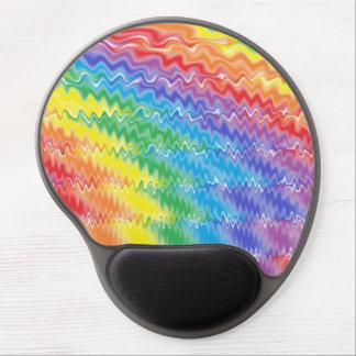 Gel Mousepad del arco iris de la lava Alfombrillas Con Gel