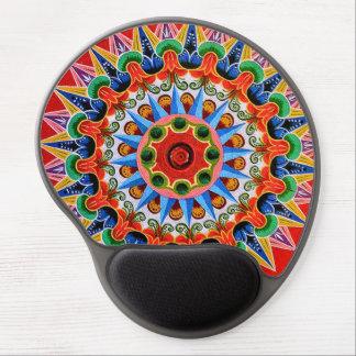 Gel Mousepad del arte de Rican Oxcartwheel de la Alfombrilla De Ratón Con Gel