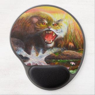 Gel mousepad. del cachorro de tigre alfombrilla de raton con gel