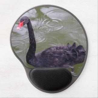 Gel Mousepad del cisne negro Alfombrilla De Ratón Con Gel