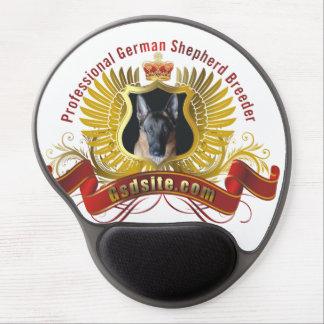 Gel Mousepad del criador del pastor alemán Alfombrilla De Raton Con Gel