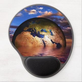 Gel Mousepad del diseño moderno de la tierra Alfombrilla De Raton Con Gel