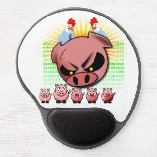 Gel Mousepad del equipo del melé Alfombrilla Con Gel