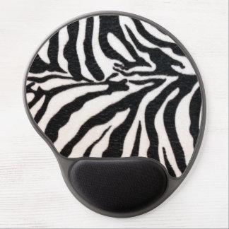 Gel Mousepad del estampado de zebra Alfombrillas De Raton Con Gel