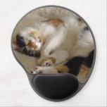 Gel Mousepad del gatito el dormir Alfombrillas De Raton Con Gel