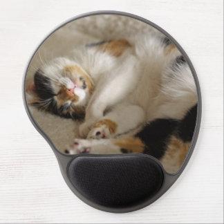 Gel Mousepad del gatito el dormir Alfombrilla De Raton Con Gel