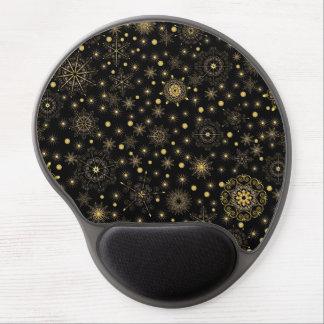 Gel Mousepad del modelo del oro Alfombrilla De Raton Con Gel