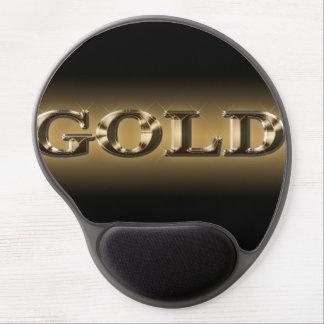 Gel Mousepad del oro Alfombrilla De Ratón Con Gel