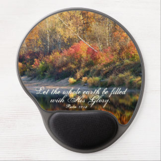Gel Mousepad del otoño de la gloria de dios de la Alfombrilla De Raton Con Gel