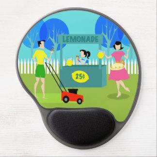 Gel Mousepad del puesto de limonadas de los niños Alfombrillas Con Gel