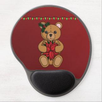 Gel Mousepad del regalo del peluche Alfombrillas De Ratón Con Gel