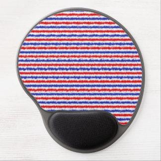 Gel Mousepad del rojo, blanco y azul de la falta d Alfombrillas De Raton Con Gel