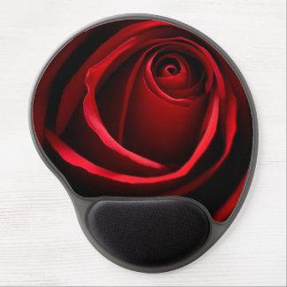 Gel Mousepad del rosa rojo Alfombrilla Gel
