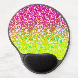 Gel Mousepad Glitter Graphic