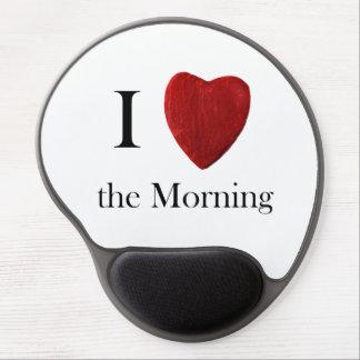 gel Mousepad i Morning love the Alfombrillas Con Gel