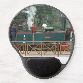 Gel Mousepad - locomotora miniatura Alfombrilla Con Gel