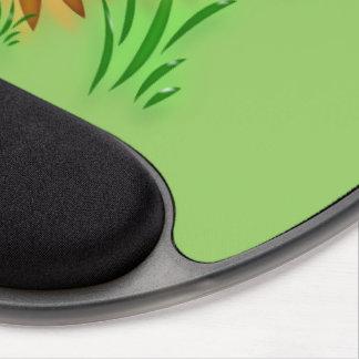 Gel Mousepad - Neon Daisies