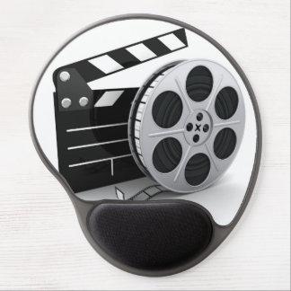 Gel Mousepad - rollo de película y chapaleta de la Alfombrilla Con Gel