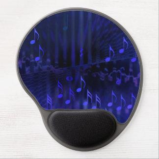 Gel Mousepad with Blue Digital Art - Concert Hall