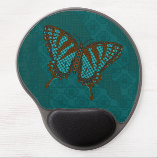 Gel nativo Mousepad de Swallowtail Alfombrillas De Raton Con Gel
