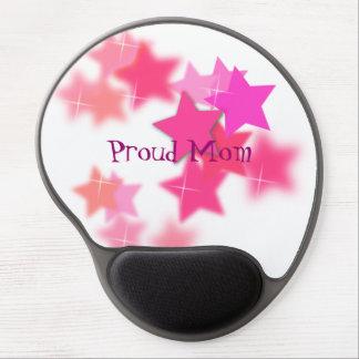 Gel orgulloso Mousepad de la mamá Alfombrillas Con Gel