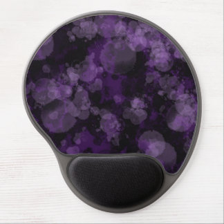 Gel oscuro Mousepad de la explosión de la púrpura Alfombrilla Gel