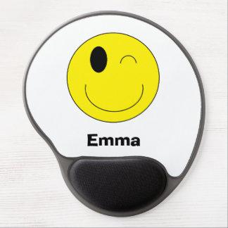 Gel personalizado Mousepad de Emoji Alfombrilla De Raton Con Gel