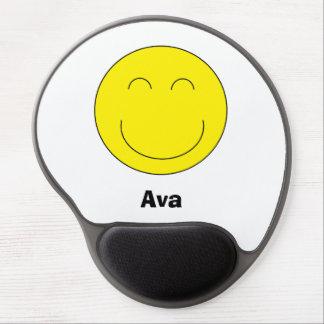 Gel personalizado Mousepad de Emoji Alfombrillas De Ratón Con Gel