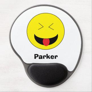 Gel personalizado Mousepad de Emoji Alfombrillas De Raton Con Gel