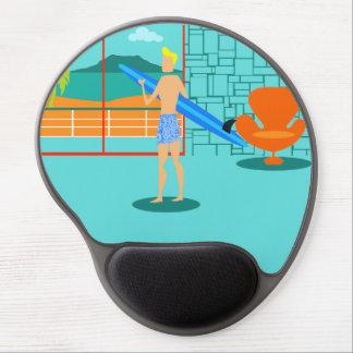 Gel retro Mousepad del tipo de la persona que Alfombrillas Con Gel