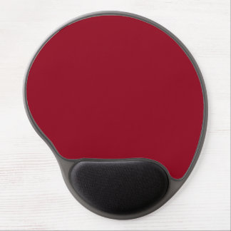 Gel rojo Mousepad de Borgoña Alfombrillas De Ratón Con Gel