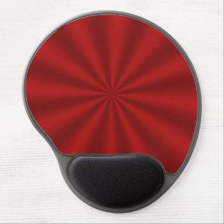 Gel rojo Mousepad de Starburst Alfombrilla Con Gel
