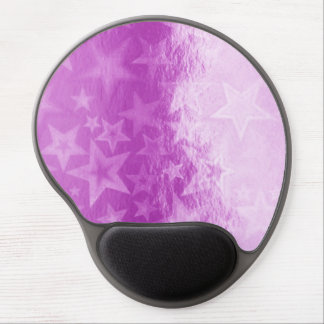 Gel rosado metálico Mousepad de Fuschia Starshine Alfombrilla De Ratón Con Gel