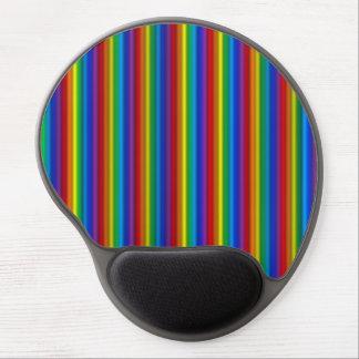 Gel vertical Mousepad del arco iris Alfombrilla Gel