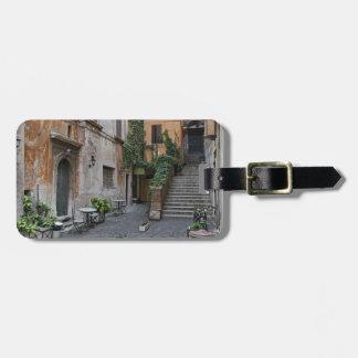 Gelateria romano etiqueta para equipaje