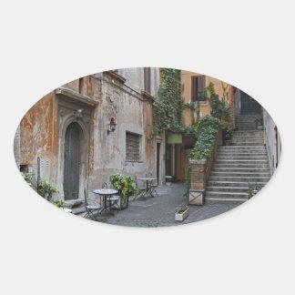 Gelateria romano etiqueta