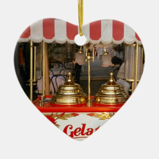 Gelati, Italian Ice Cream Ceramic Ornament